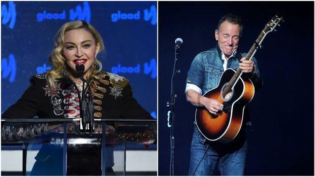 Madonna/ Bruce Springsteen