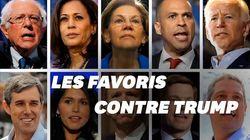 Les favoris du premier débat démocrate ont chacun un atout pour battre