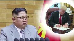 Kim Jong Un Reveals Trump's 'Excellent Content' Letter In 'Late Show'