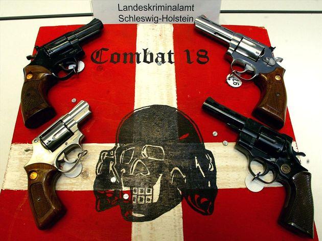 Des armes du groupe extrémiste Combat 18 saisies en Allemagne en