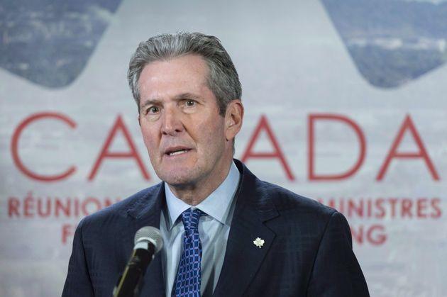 Le premier ministre du Manitoba, Brian