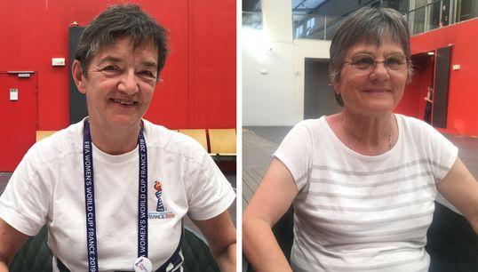 As veteranas do futebol feminino da França que atuam como voluntárias na Copa