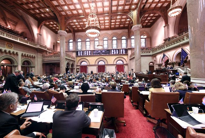 """The New York Legislature recalled its automatic voter registration bill due to a """"significant technical issue."""""""