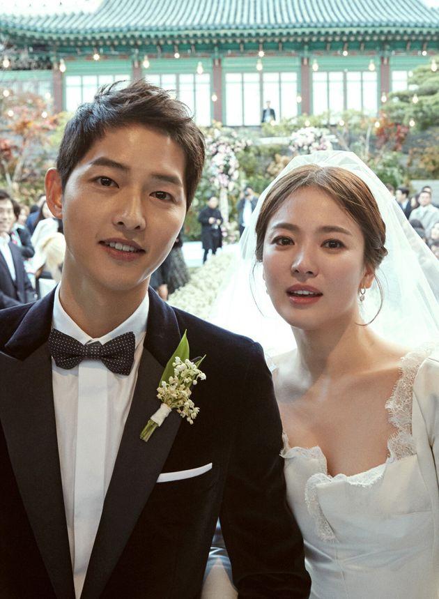 지난 2017년 10월 결혼한 배우 송중기와