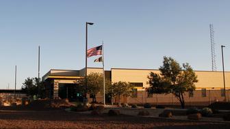 Vista de un centro de detención para migrantes de la Patrulla Fronteriza en Clint, Texas, el 20 de junio de 2019. (AP Foto/Cedar Attanasio, archivo)