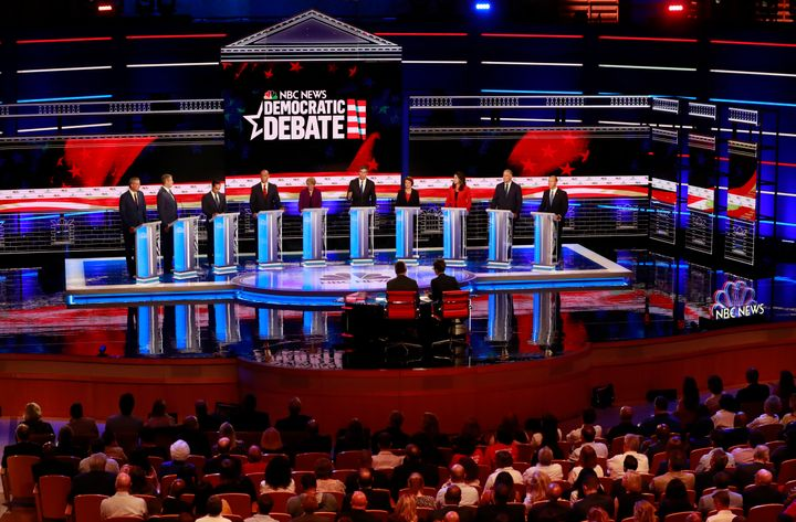 Democrats Spent Less Than 10 Minutes Talking About Climate Change At First 2020 Debate