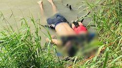 멕시코 국경에서 사망한 아빠는 왜 딸을 안고 강을 건너려