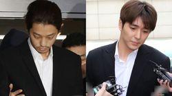 정준영과 최종훈이 '집단 성폭행' 혐의를 부인하며 한