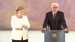 Merkel trema