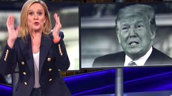 Samantha Bee Unloads On US Media Over Way It Didn't Cover Trump Rape