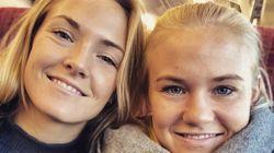 Magda Eriksson e Pernille Harder si danno il più bel bacio del Mondiale