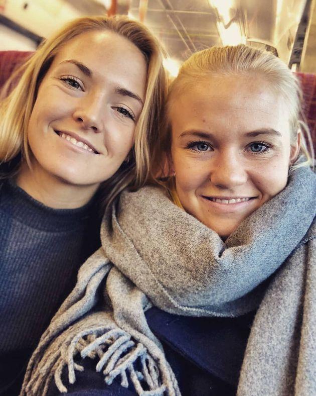 Il bacio più bello del mondiale femminile è quello tra Magda Eriksson e Pernille
