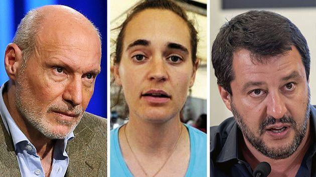 Il comandante De Falco difende la capitana Rackete e attacca Salvini: