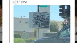 """""""Sommes-nous en 1995?"""" La programmation de ce cinéma va vous rappeler des"""