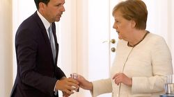 German Chancellor Angela Merkel Seen Visibly Shaking For The Second Time This
