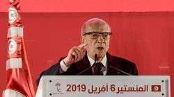 Le président de la Tunisie dans un état