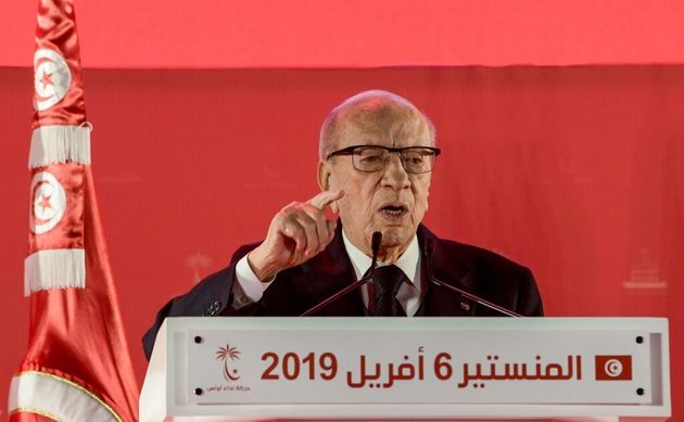 Béji Caïd Essebsi le 6 avril 2019 à
