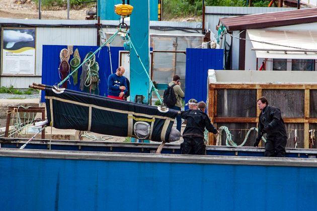 Ρωσία: Οι πρώτες φάλαινες απελευθερώθηκαν από την «φυλακή των