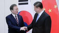 문 대통령이 시진핑 주석에게 미중무역분쟁에 관한 말을