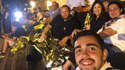Le curé de Lampedusa campe sur son parvis pour réclamer le débarquement de 42
