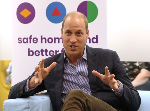 The Duke of Cambridge spoke to former and current service users during a visit to the Albert Kennedy Trust in London on Wedne