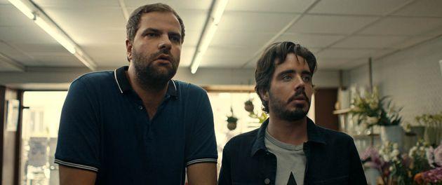 Éric et Quentin dans leur film