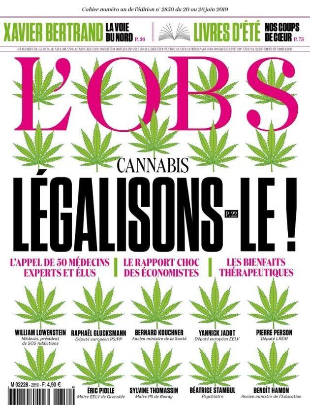 La couverture du numéro du 20 juin 2019 de