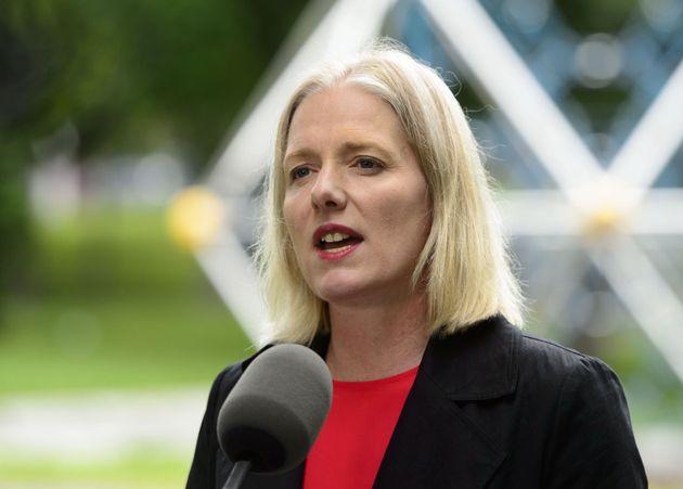 La ministre fédérale de l'Environnement, Catherine