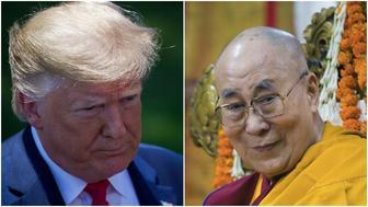 Donald Trump/ Dalai Lama