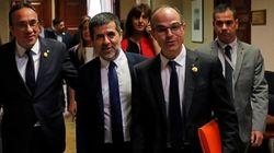 Rull, Turull y Sànchez piden la abstención de JxCat en la investidura de Pedro