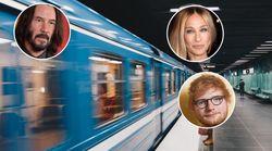 15 estrellas internacionales que viajan en el metro (y nunca te lo hubieses