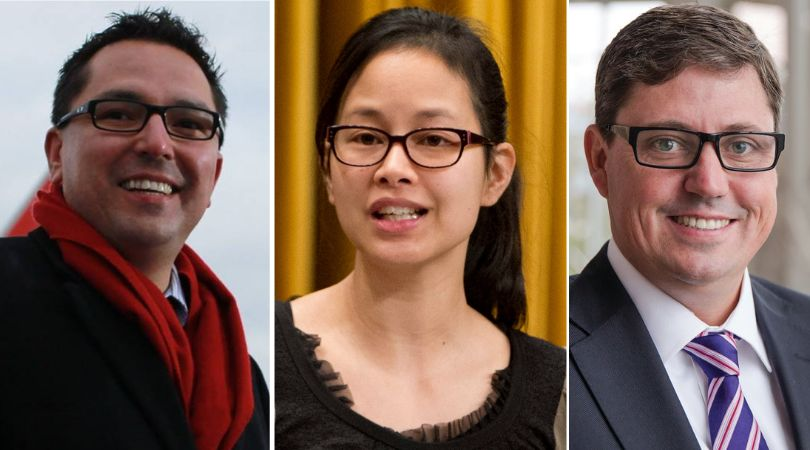 MPs Don Rusnak, Anne Minh-Thu Quach, and Kyle Peterson are not running again this fall because of their young families.