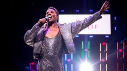 Billy Porter Stuns In Custom Catsuit With Endless Sparkle At WorldPride