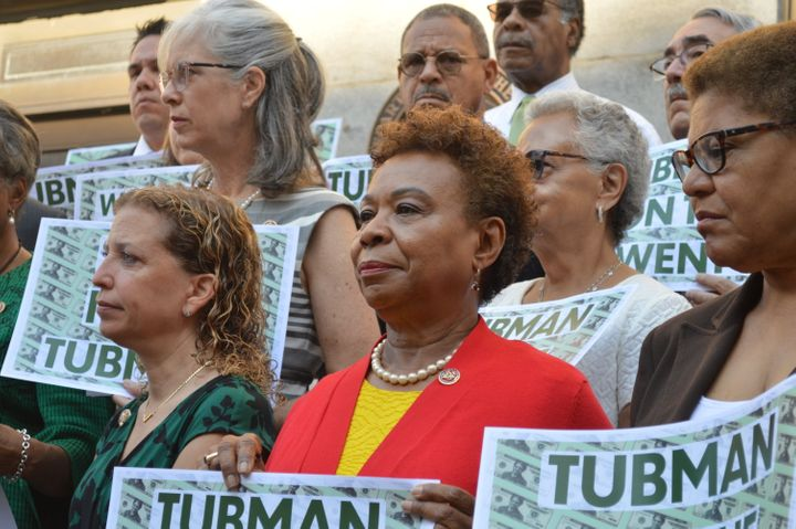 Democratic Congresswomen Call Out Mnuchin For Delaying Tubman $20 Bill