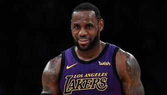 LOS ANGELES, CA - MARCH 22: LeBron James #23 of the Los Angeles Lakers reacts during the second half against Brooklyn Nets during the basketball game at Staples Center on March 22, 2019 in Los Angeles, California. NOTE TO USER: User expressly acknowledges and agrees that, by downloading and or using this photograph, User is consenting to the terms and conditions of the Getty Images License Agreement. (Photo by Kevork Djansezian/Getty Images)
