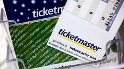 Ticketmaster devra payer une amende de 4,5 millions $ pour des prix