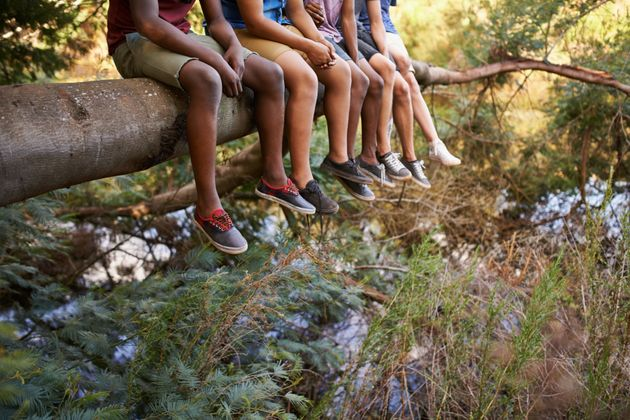 Kids take more risks at camp than they might at