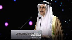 청와대가 사우디 장관 소개하며 다른 사람 사진을