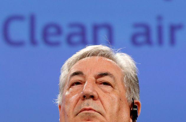 El comisario de Medio Ambiente, Karmenu Vella, en una imagen de