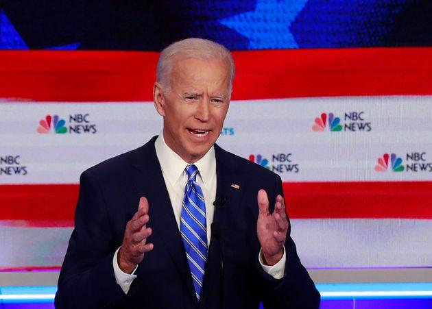 Joe Biden lors du premier grand débat à la primaire démocrate le 27 juin