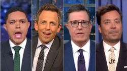 Late-Night TV Hosts Have A Field Day With Second Democratic 2020