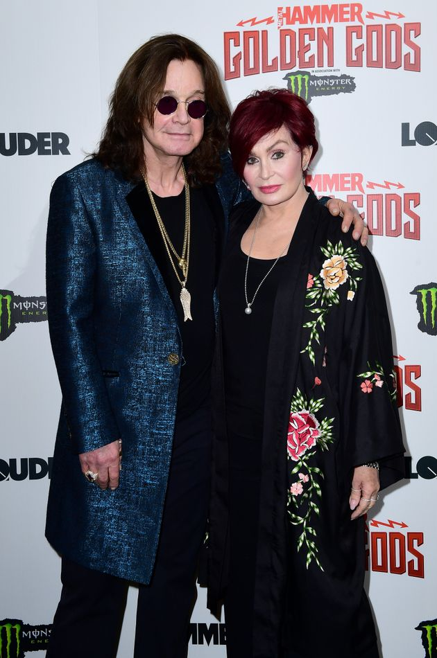 Ozzy and Sharon