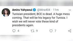 Au tweet de la honte les Tunisiens