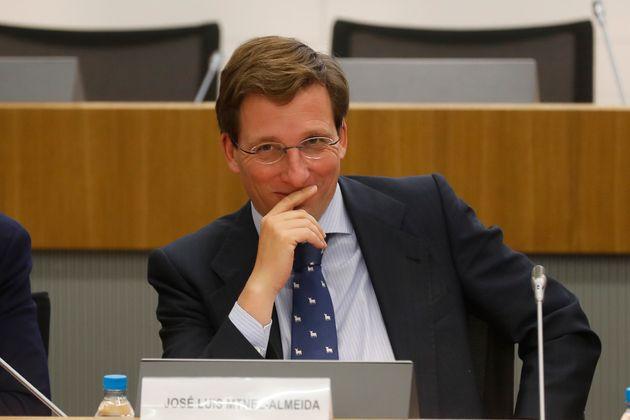 José Luis Martínez-Almeida, actual alcalde de Madrid por el