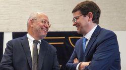 El PP y Cs sellan un acuerdo para gobernar Castilla y
