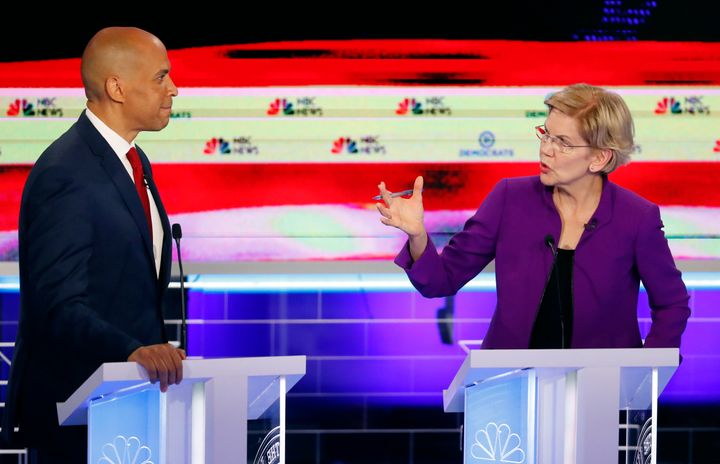 Warren commanded the stage and set the tone for the conversation.