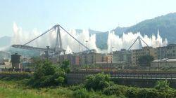 Γένοβα: Κατεδαφίστηκε η γέφυρα που κατέρρευσε σκοτώνοντας 43