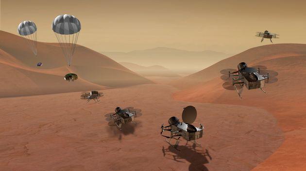 Εξερευνητική αποστολή στον Τιτάνα, φεγγάρι του Κρόνου ανακοίνωσε η