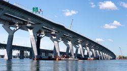 Le pont Samuel-De-Champlain est officiellement
