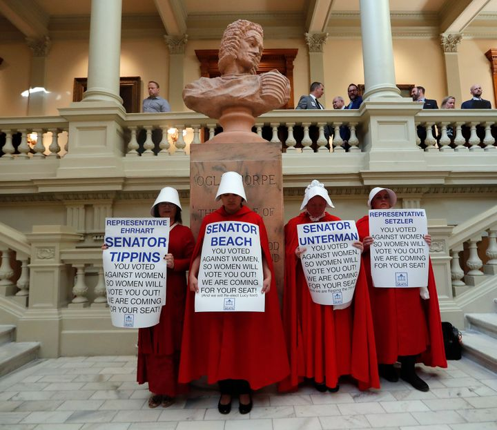 The ACLU, Center for Reproductive Rights and Planned Parenthood are suing Georgia over their six-week abortion ban, which Gov